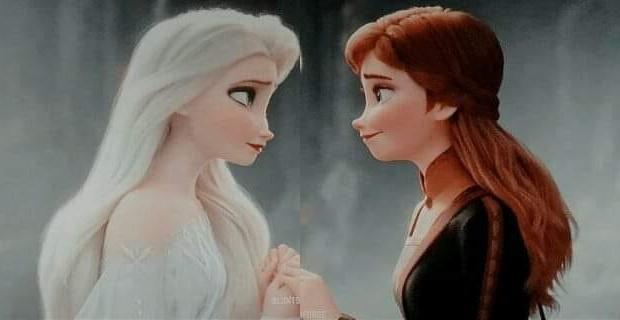 Agnar and Iduna As Children. Frozen 2